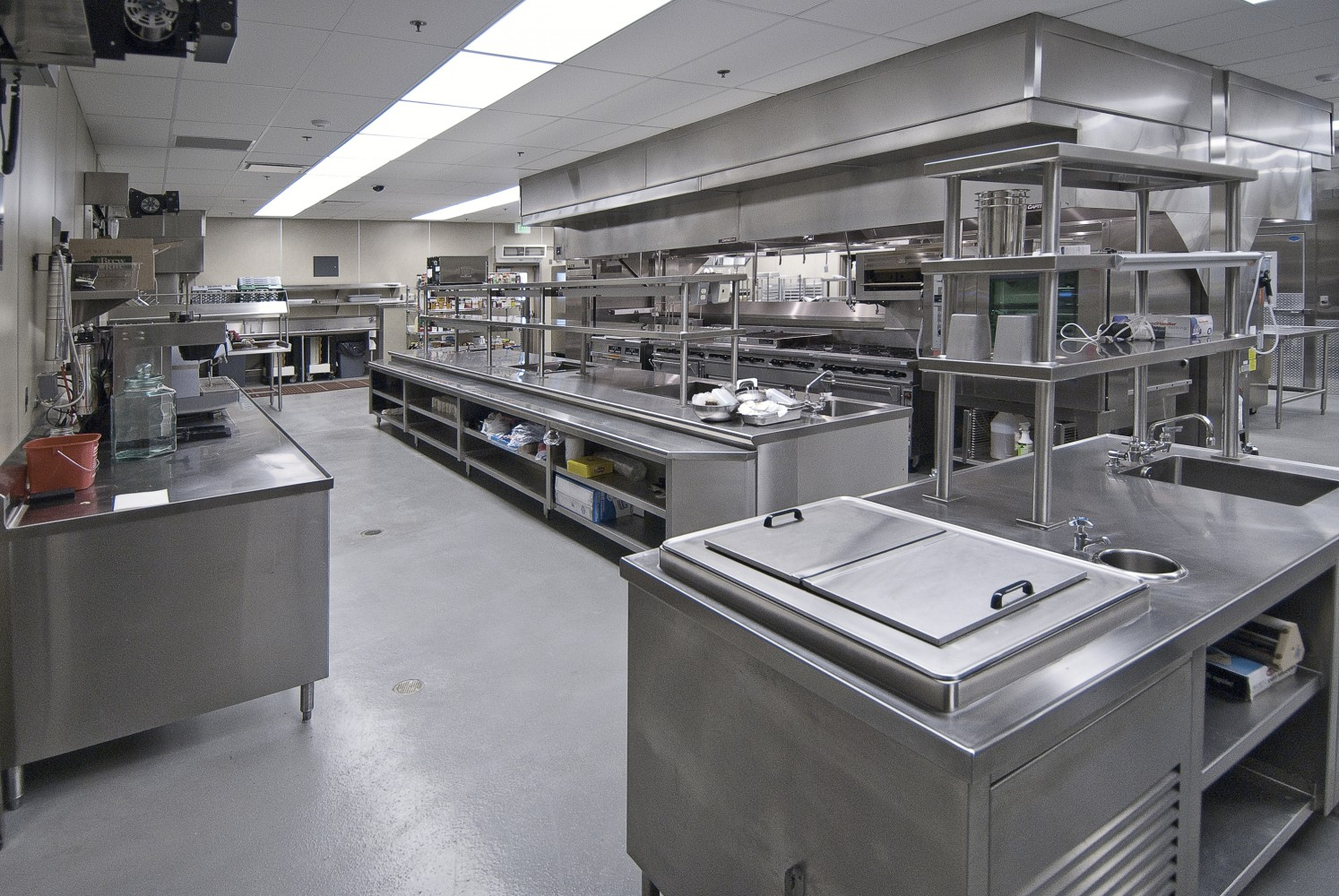 Small Commercial Kitchen Refrigeration Design