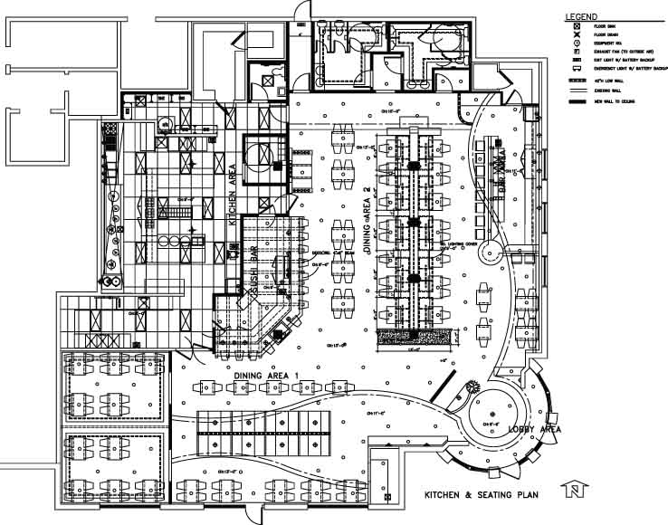 Restaurant floor plan kitchen layout joseph