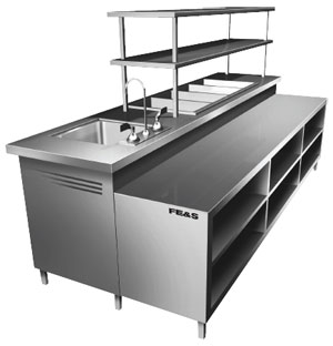 Custom Stainless Steel Fabrication For Commercial Kitchens