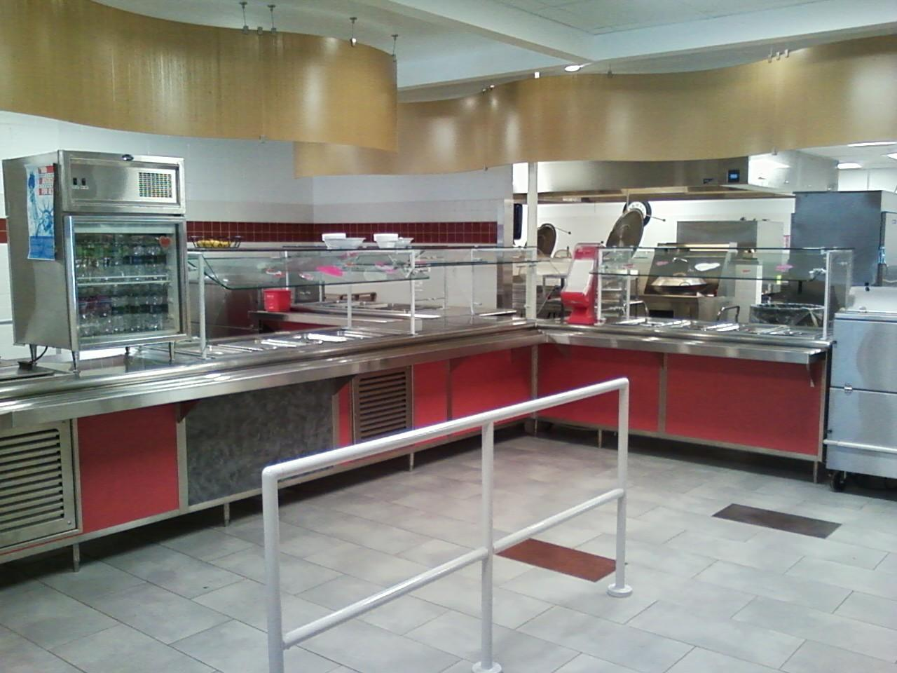 Spencer vanetten school district new serving line cooking for Culinary kitchen equipment